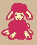 Little lamb illustration by Nancy Ball