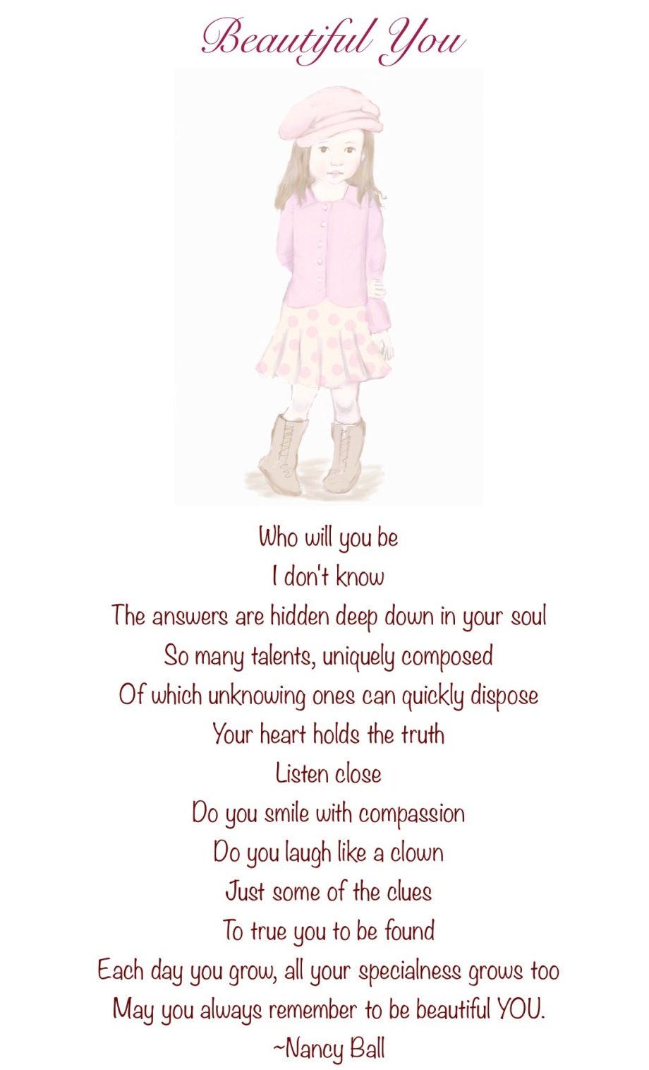 Poem Illustration Unique Talent
